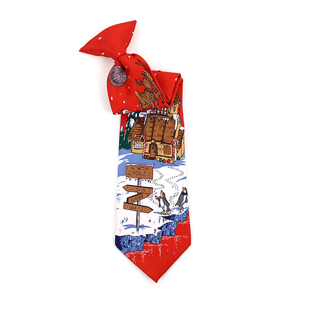 Boy's CHRISTMAS Neck Tie BN4603-RD