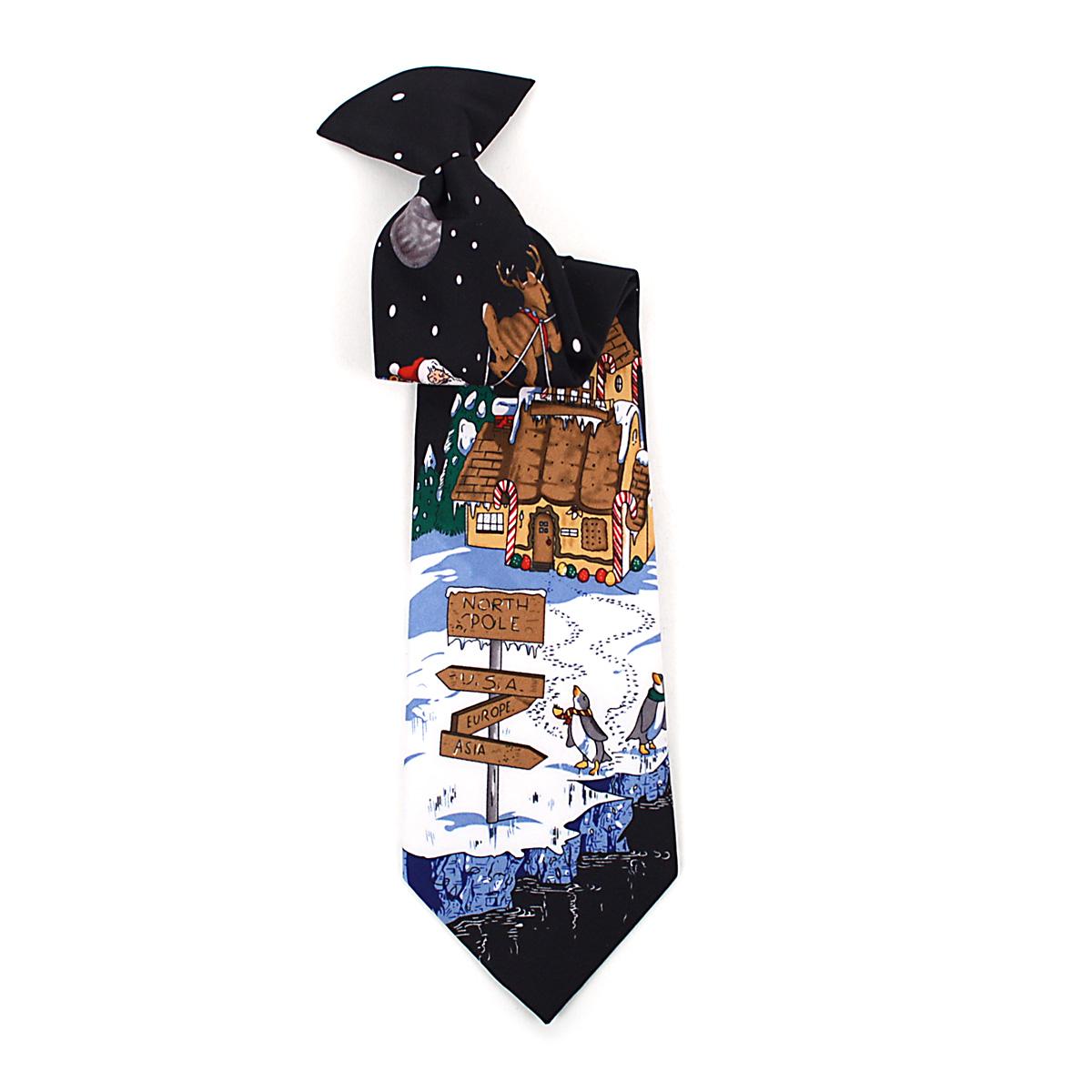Boy's CHRISTMAS Neck Tie BN4603-BK