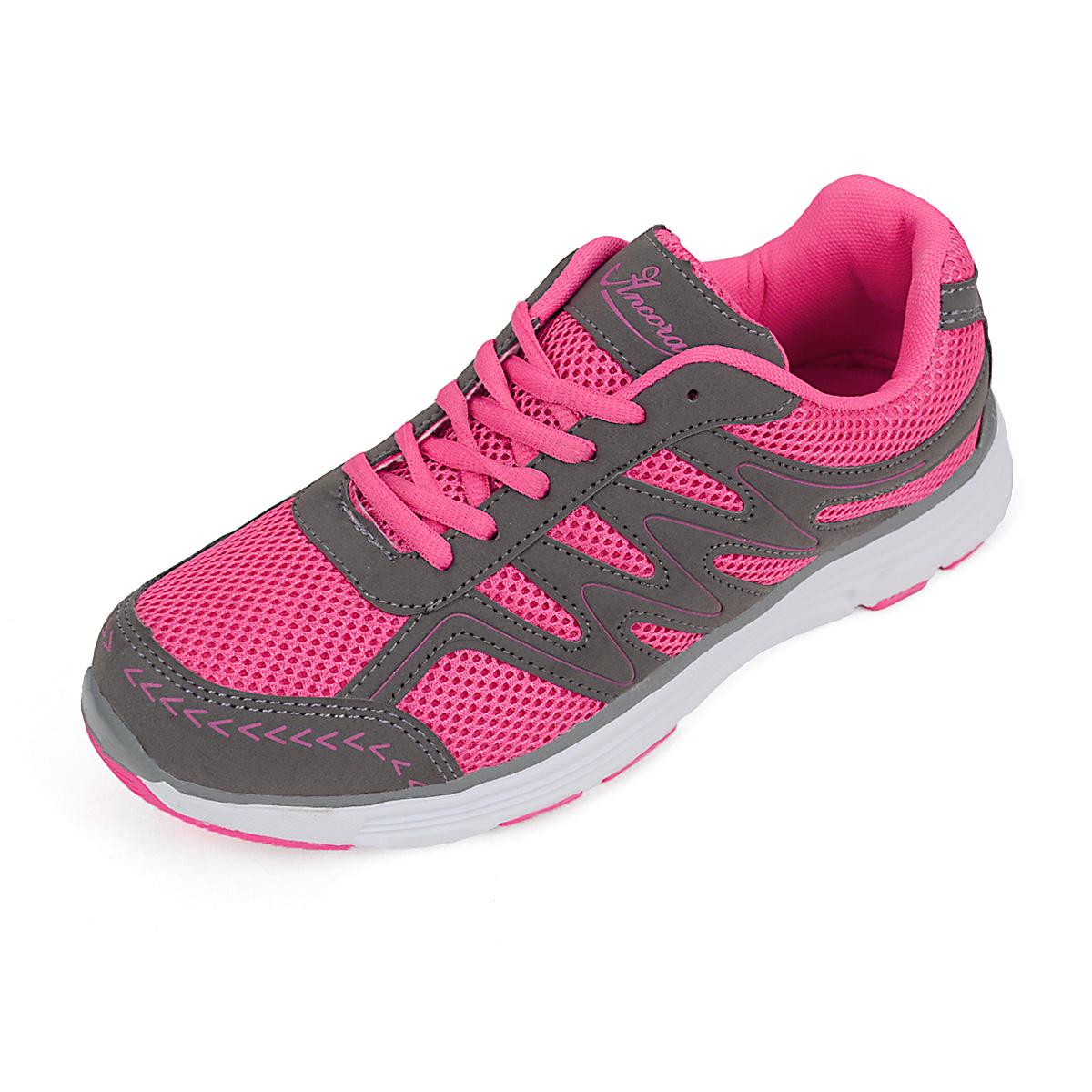 12pcs Women's Pink Sport SNEAKERS Shoes SPLC015L-PK