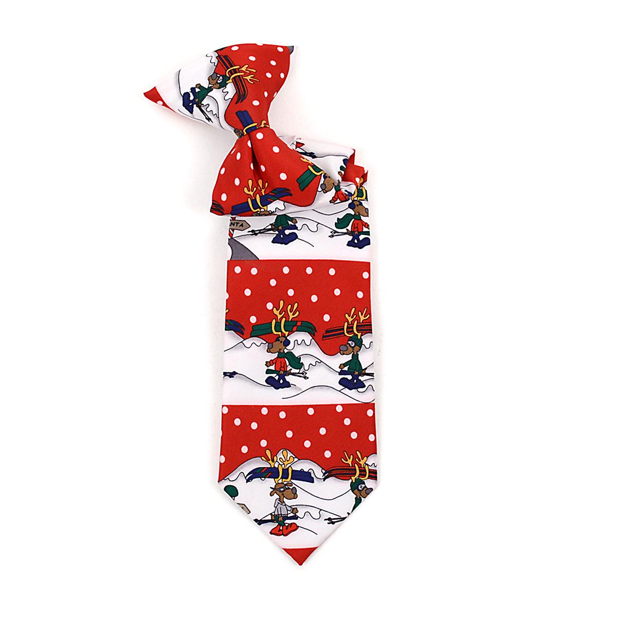 Boy's CHRISTMAS Neck Tie BN4602-RD