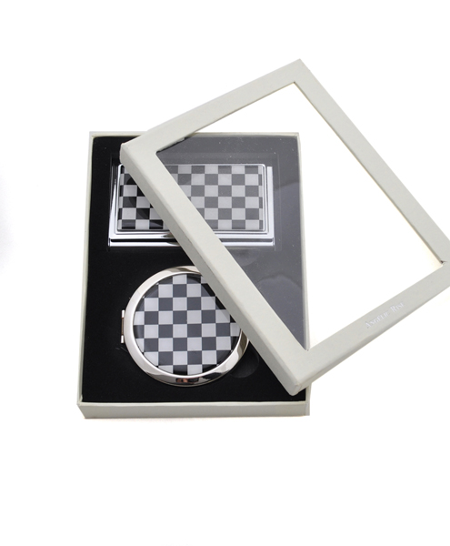 COMPACT MIRROR and Card Case Set S11046