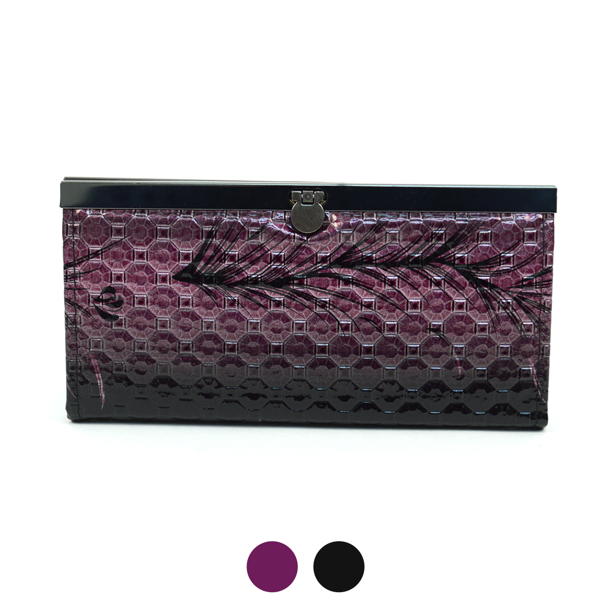 Faux LEATHER Wallet PUR1210
