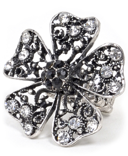 STRETCH RING Flower - IMJS0643