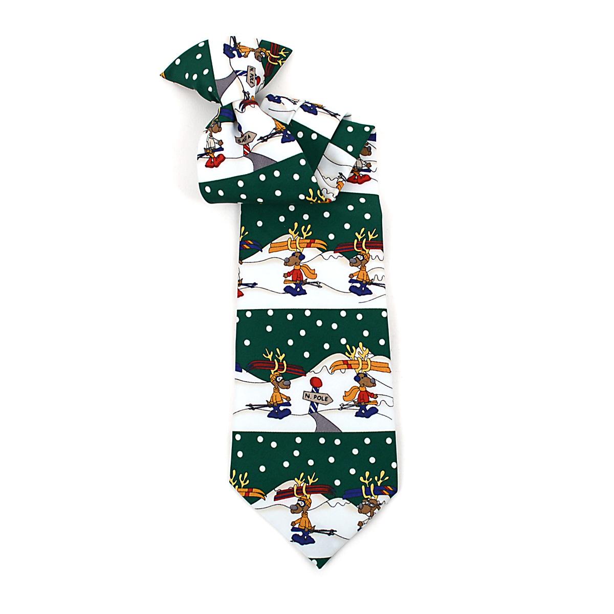 Boy's CHRISTMAS Neck Tie BN4602-GR